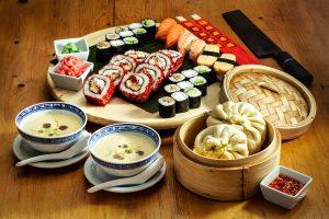 sushi akció