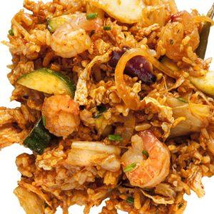 Pirított rizsek